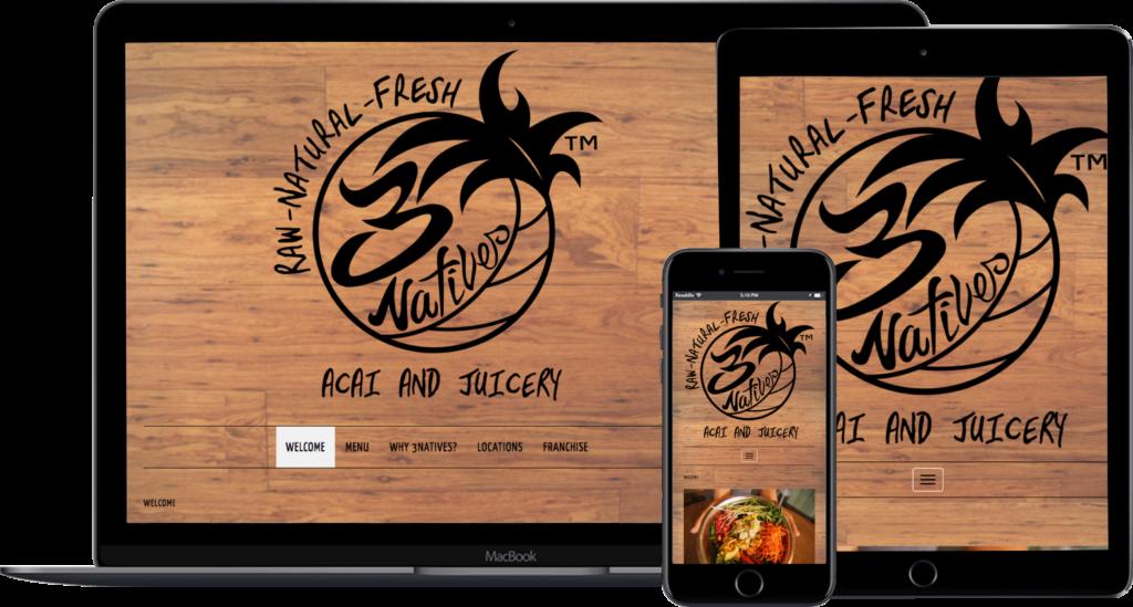 3Natives-Website-Design